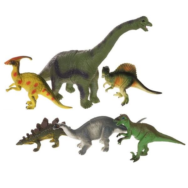 Megasaurs SV12927 Мегазавры Игровой набор динозавров 6 штук (в ассортименте) игровые фигурки happy kin набор динозавров 41093