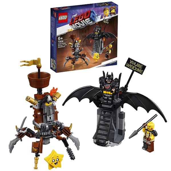LEGO Movie 2 70836 Конструктор Лего Фильм 2 Боевой Бэтмен и Железная борода lego batman movie 70915 лего фильм бэтмен разрушительное нападение двуликого