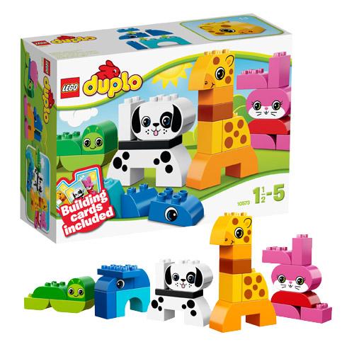 Lego Duplo 10573_1 Конструктор Лего Дупло Веселые зверушки