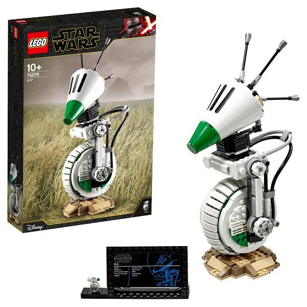 LEGO Star Wars 75278 Конструктор ЛЕГО Звездные Войны Дроид D-O
