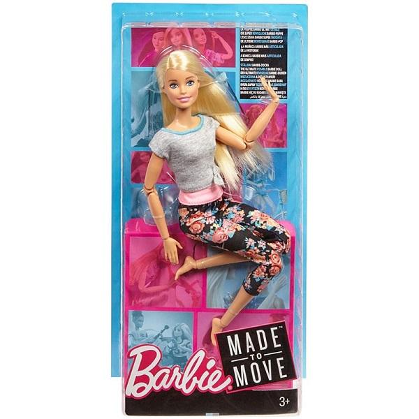 Mattel Barbie FTG81 Барби Безграничные движения Блондинка