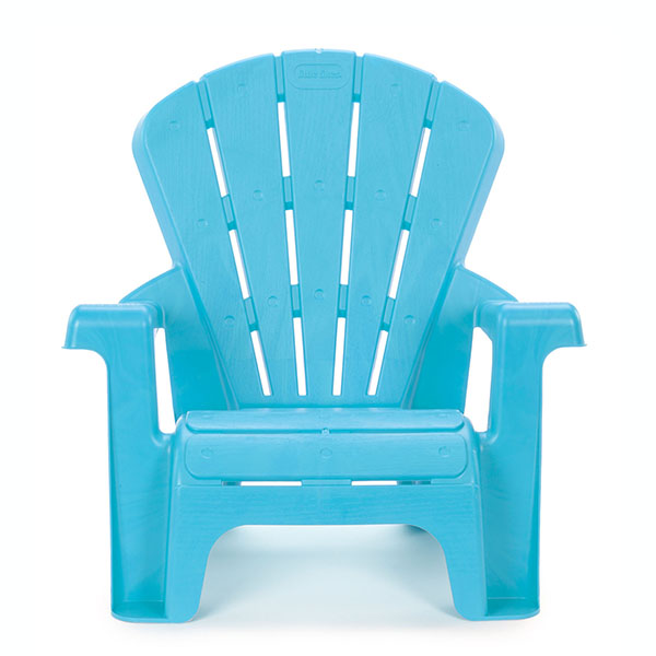 Little Tikes 644689 Литл Тайкс Стульчик садовый, голубой