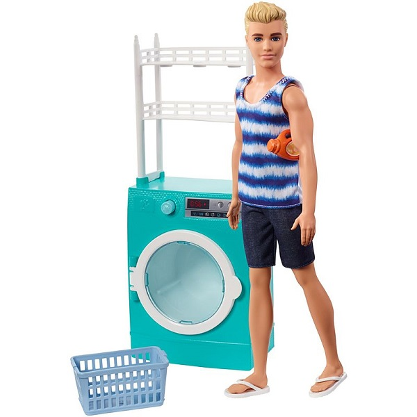 Mattel Barbie FYK52 Барби Кен и набор мебели