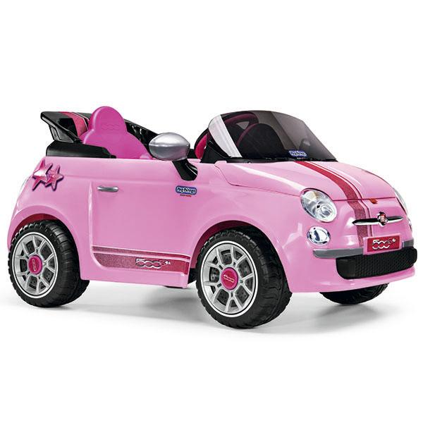 Детский электромобиль Peg-Perego ED1172 Fiat 500 Star Pink
