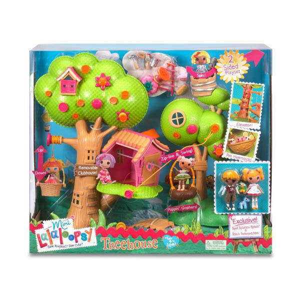 Lalaloopsy Mini 506775 Лалалупси Мини Игровой набор Домик на дереве