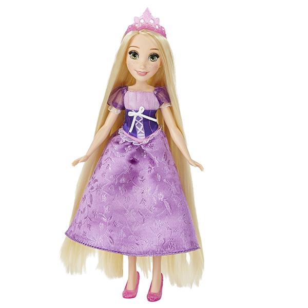 Disney Princess Принцесса Рапунцель с длинными волосами и аксессуарами
