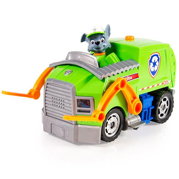Paw Patrol 16637-g_9 Щенячий патруль Большой автомобиль спасателя со звуком и светом (Рокки)