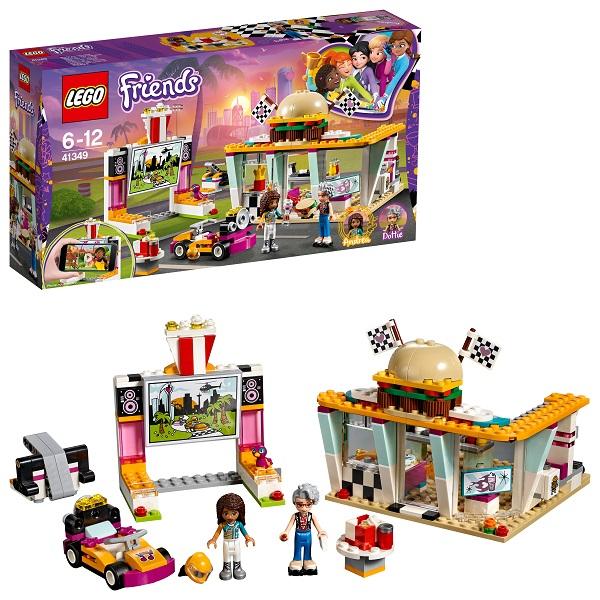 Lego Friends 41349 Конструктор Лего Подружки Передвижной ресторан марчин вроньский кинотеатр венера
