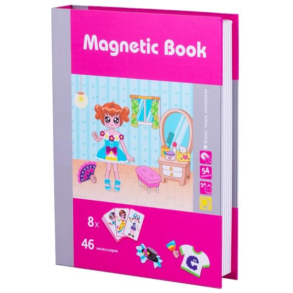 Magnetic Book TAV036 Развивающая игра Модница, 54 детали