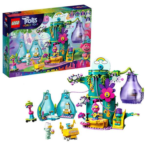 LEGO Trolls 41255 Конструктор ЛЕГО Тролли Праздник в Поп-сити lego city 60185 лего сити трактор для горных работ