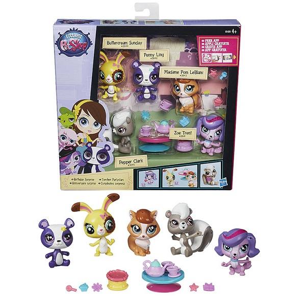 Hasbro Littlest Pet Shop B0282 Литлс Пет Шоп Игровой мини-набор (в ассортименте) игровой набор littlest pet shop литл пет шоп shaken dry salon c0043 c1202