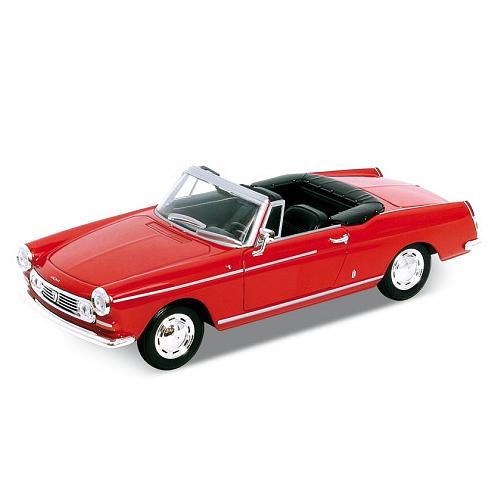Welly 43604_1 Велли Модель винтажной машины 1:34-39 Peugeot 404
