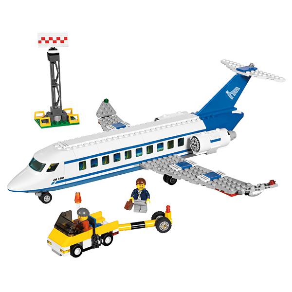 Lego City 3181 Конструктор Лего Город Пассажирский самолёт