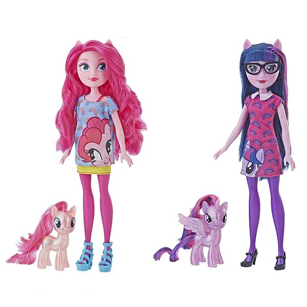 Hasbro My Little Pony E5657 Май Литл Пони Игровой набор ПОНИ и кукла Девочки Эквестрии