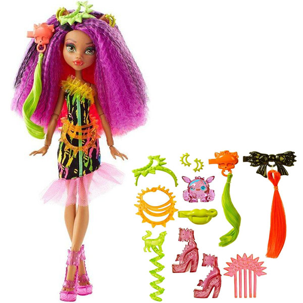 """Mattel Monster High DVH70 Школа Монстров Монстряшки из серии """"Под напряжением"""" Клаудин Вульф"""