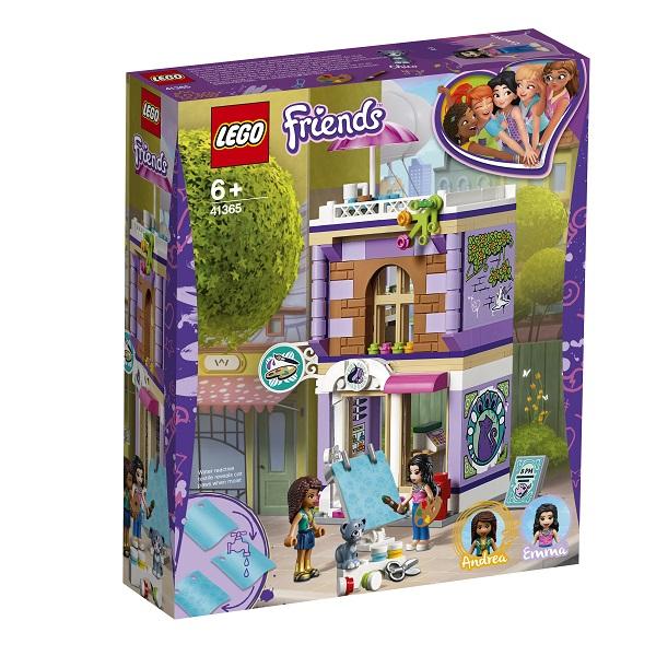 LEGO Friends 41365 Конструктор ЛЕГО Подружки Художественная студия Эммы
