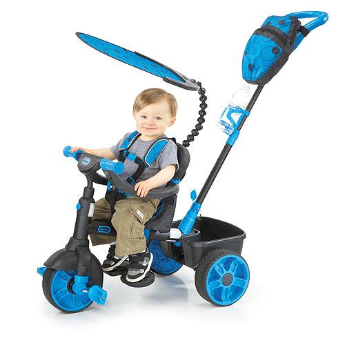 Little Tikes 634338 Литл Тайкс Велосипед 4 в 1, синий