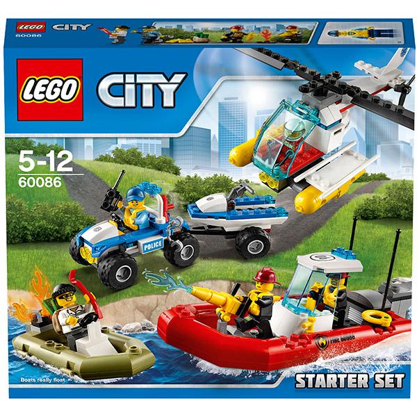 Lego City 60086 Конструктор Лего Город Набор для начинающих
