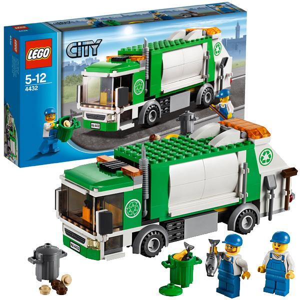 Lego City 4432 Конструктор Лего Город Мусоровоз