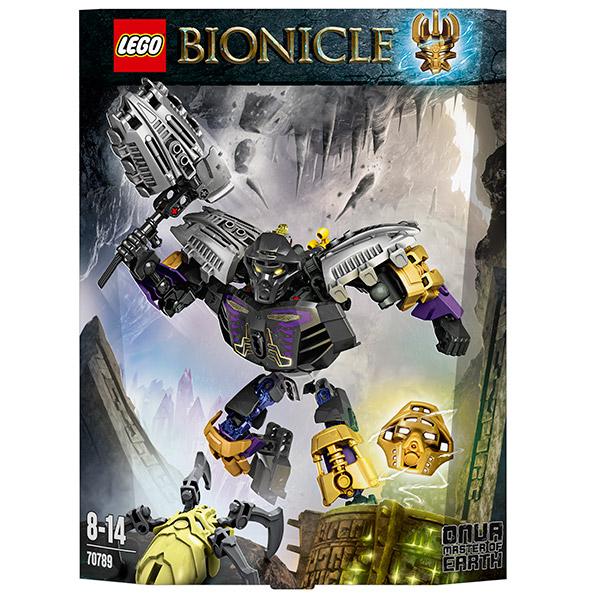 Lego Bionicle 70789 Конструктор Лего Бионикл Онуа-Повелитель Земли
