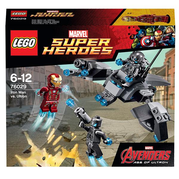 Lego Super Heroes 76029 Конструктор Лего Супер Герои Железный человек против Альтрона