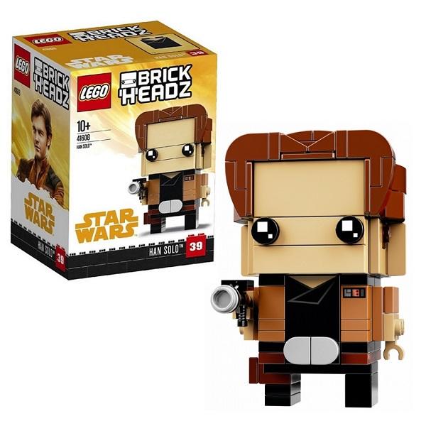 LEGO BrickHeadz 41608 Конструктор ЛЕГО БрикХедз Хан Соло все цены