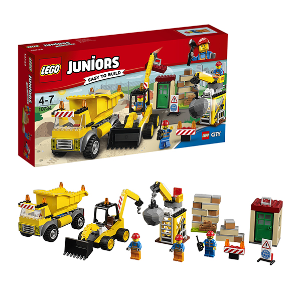 Lego Juniors 10734 Лего Джуниорс Стройплощадка рации