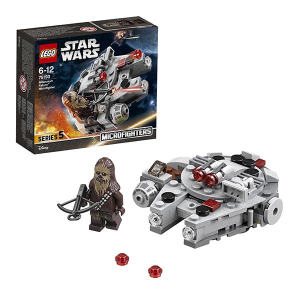 Lego Star Wars 75193 Конструктор Лего Звездные Войны Микрофайтер Сокол Тысячелетия