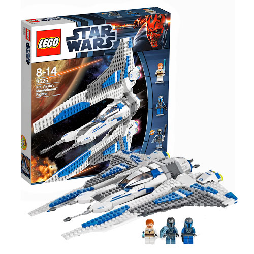 Конструктор Lego Star Wars 9525 Лего Звездные войны Истребитель мандалориана Пре Визла