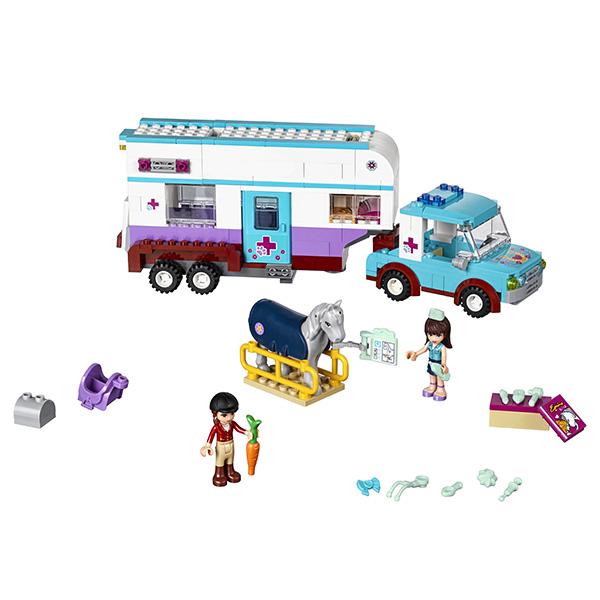 Лего Подружки 41125 Ветеринарная машина для лошадок