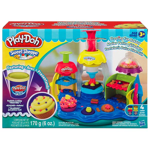 Hasbro Play-Doh A0318 Игровой набор пластилина Фабрика пирожных игровой набор с пластилином play doh a0318 фабрика пирожных