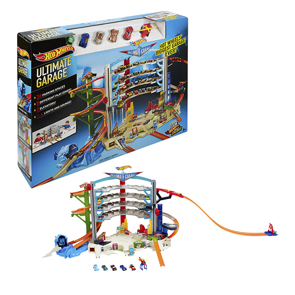 Mattel Hot Wheels CMP80_9 Хот Вилс Невообразимый гараж