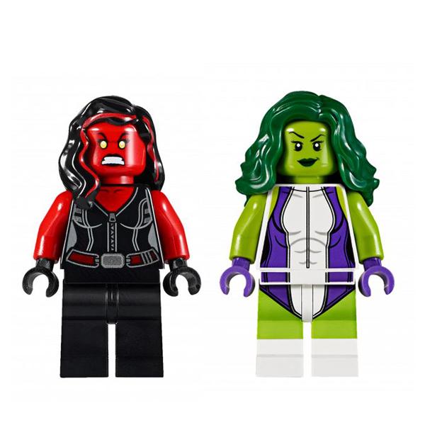 Lego Super Heroes 76078 Конструктор Лего Супер Герои Халк против Красного Халка