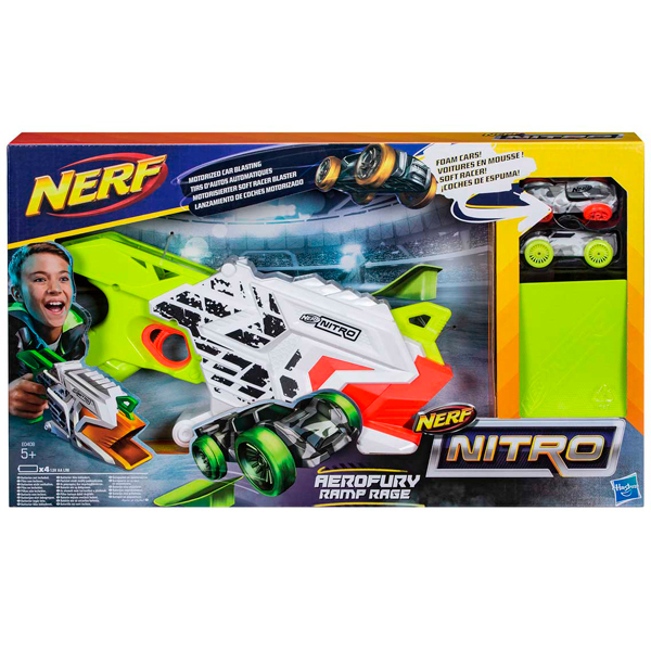 Hasbro Nerf Nitro E0408 Нерф Нитро Аэрофьюри
