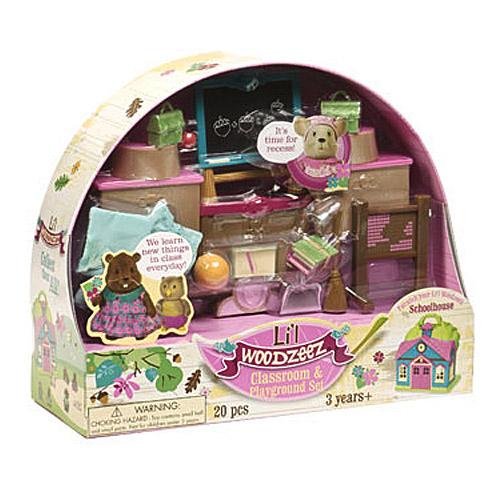 Li'l Woodzeez 6124M Лил Вудзиз Набор для классной комнаты и игровой площадки