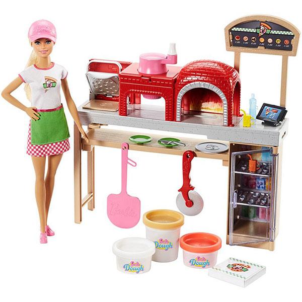 Mattel Barbie FHR09 Барби Пицца шеф