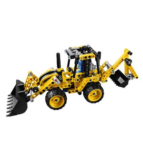Лего Техник 42004 Экскаватор-погрузчик