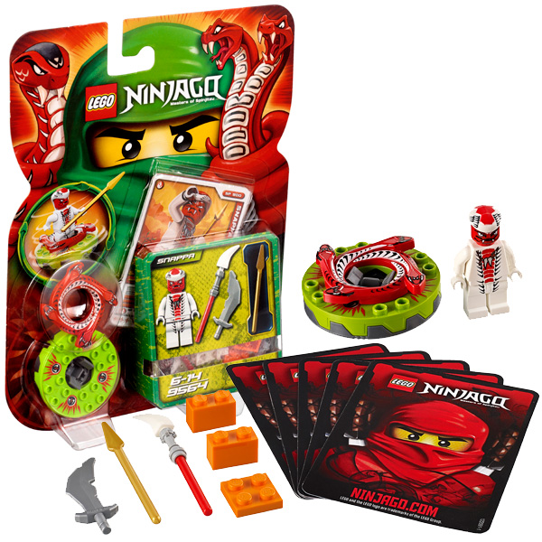 Lego Ninjago 9564 Конструктор Лего Ниндзяго Снэппа