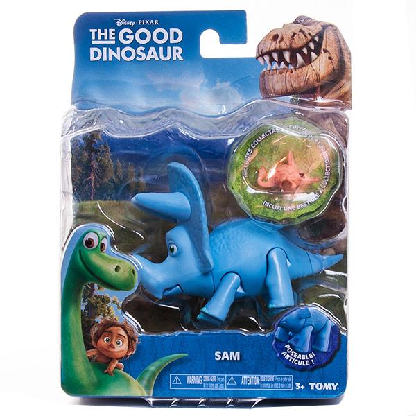 Good Dinosaur 62005 Хороший Динозавр Маленькая подвижная фигурка Юный Трицератопс