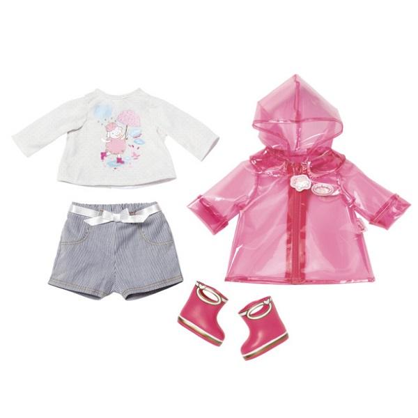 Zapf Creation Baby Annabell 700-808 Бэби Аннабель Одежда для дождливой погоды zapf creation baby annabell 700 105 бэби аннабель одежда для прогулки
