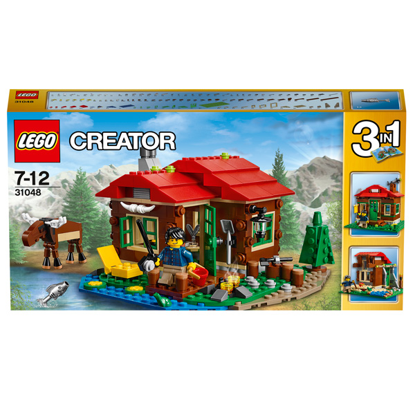 Конструктор Lego Creator 31048 Домик на берегу озера