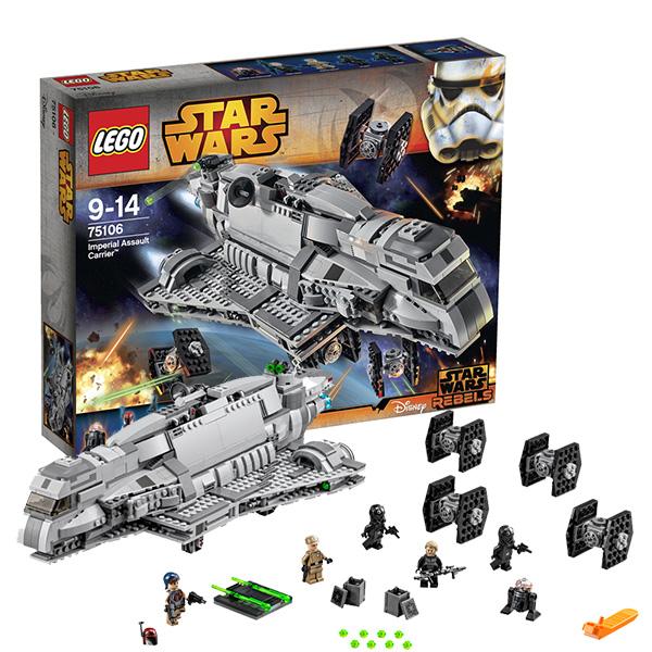 Lego Star Wars 75106 Лего Звездные Войны Имперский десантный корабль  lego lego star wars 75106 имперский десантный корабль