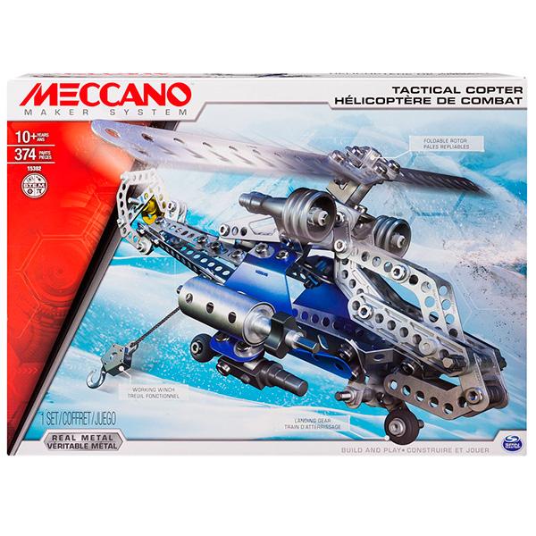 цена на Meccano 91733 Меккано Набор Боевой вертолёт (2 модели)
