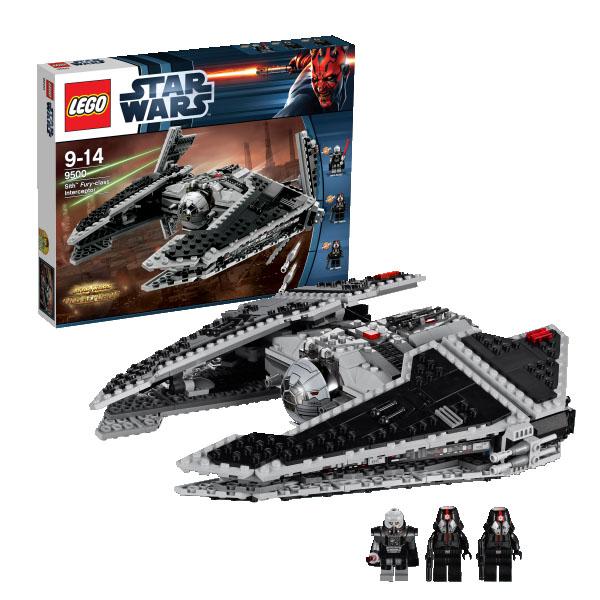 """Lego Star Wars 9500_1 Конструктор Лего Звездные войны Ситхский перехватчик класса """"Фурия"""""""