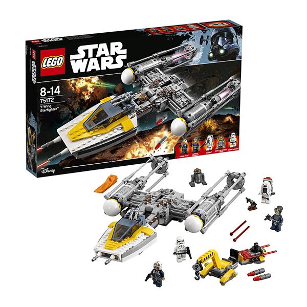 Lego Star Wars 75172 Конструктор Лего Звездные Войны Звёздный истребитель типа Y lego technic 42084 лего техник погрузчик