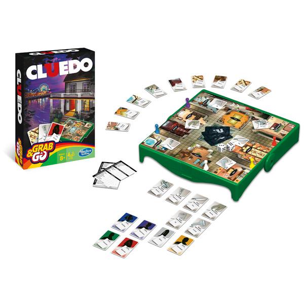 Hasbro Other Games B0999 Настольная игра Клуэдо - Дорожная версия настольная игра hasbro hasbro настольная игра games игра клуэдо обновленная
