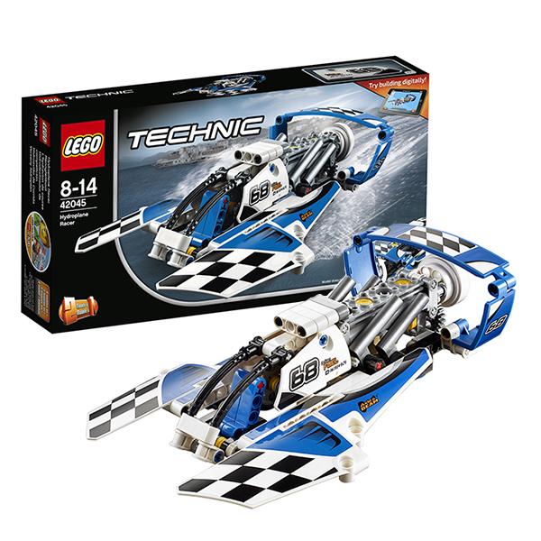 Lego Technic 42045 Конструктор Лего Техник Гоночный гидроплан