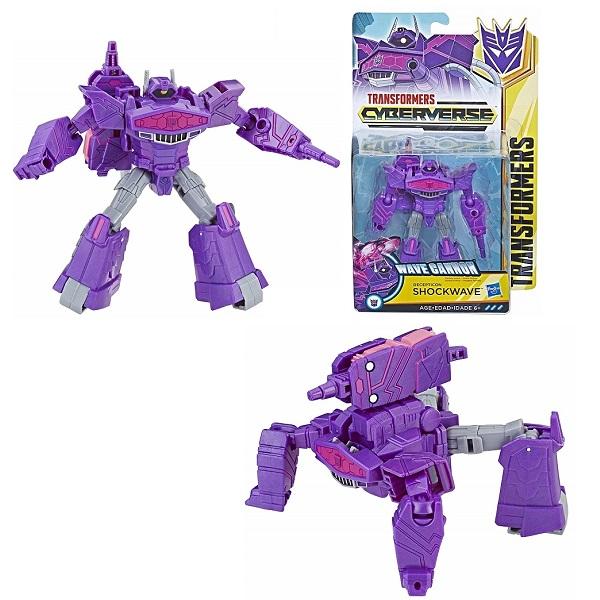 Hasbro Transformers E1884/E1903 Трансформер КИБЕРВСЕЛЕННАЯ 14 см Шоквейв недорого