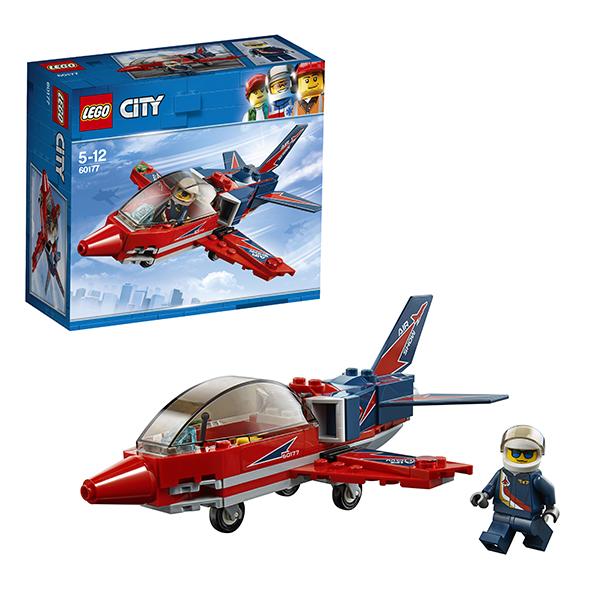 Lego City 60177 Конструктор Лего Город Реактивный самолёт lego city 60110 лего город пожарная часть