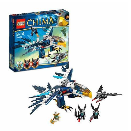 LEGO Legends of Chima 70003_1 Конструктор Лего Легенды Чима Перехватчик Орла Эриса